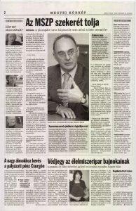Somogyi Hírlap, 2006. november 25.