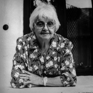 Rácz Vali 1989. őszén a göllei szülői házban