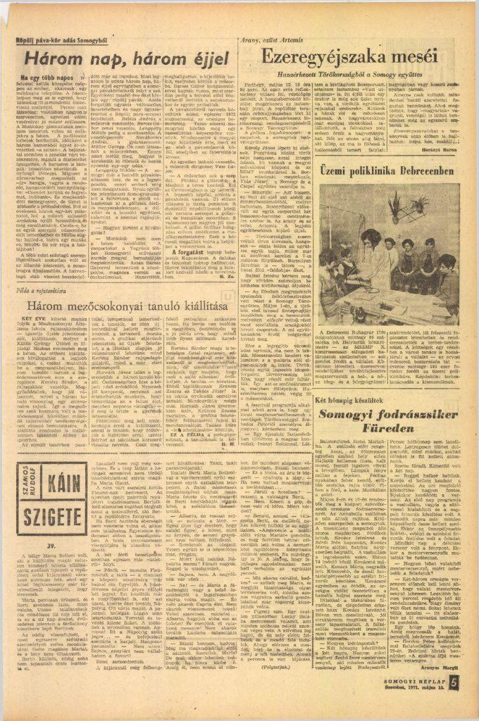 Somogyi Néplap, 1971. május 15.