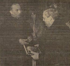 Puska Ferenc plébános üdvözölte a göllei templomban