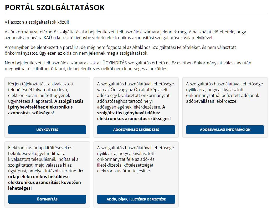 Elektronikus Fizetési Szolgáltatás tájékoztató | Gölle